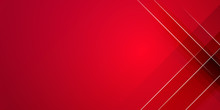 Red White Abstract Background ...