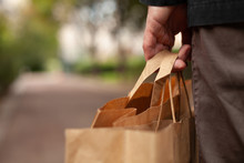 Plastic Free Shopping Concept,...