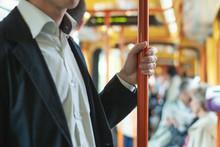 Passenger Commuter In Public T...