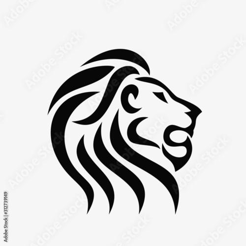 Fototapety, obrazy: Lion Head Logo
