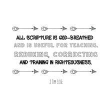 All Scripture Is God-breathed...