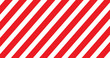 Red and white line striped. Vector illustration