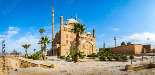 Mosque in Cairo Citadel
