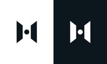 Modern Abstract Letter H Logo....