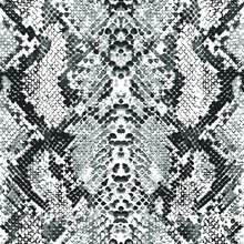 Trendy Snake Print With Black And White For Fabric, Wallpaper For, Cover, Interior Decor And Other Users.