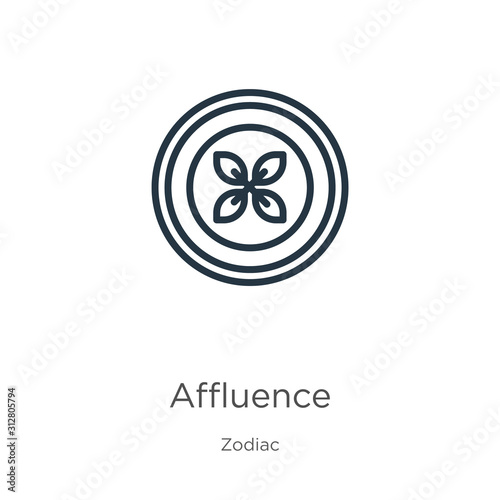 Affluence icon Wallpaper Mural
