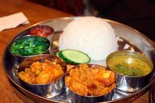 Nepalese Cuisine - Dal Bhat Tarkari