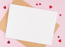 Minimalistic Card Mockup With ...