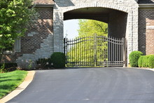 Archway On Driveway