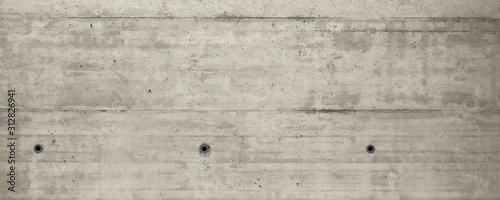 Leinwand Poster  grey concrete wall.