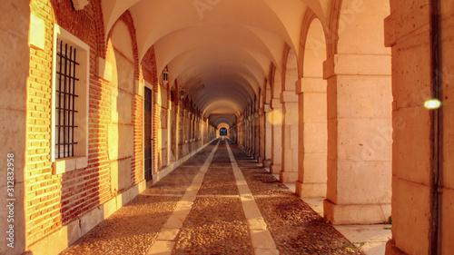 Fototapeta arkady   korytarz