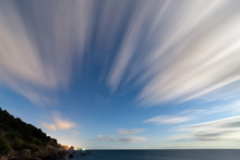 Motion Of Clouds At Long Expos...