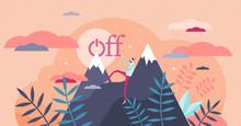 Offline Vector Illustration. D...