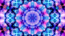 Kaleidoscope Mandala Art Design Abstract Background
