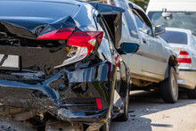 Modern Car Accident Involving ...