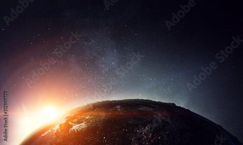 Obraz Our unique universe . Mixed media - fototapety do salonu