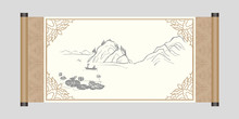 An Ancient Chinese Painting, Scroll
