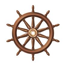 Vector Boat Handwheel, Ship Wheel Helm