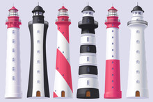 Vector Lighthouse, Light House...