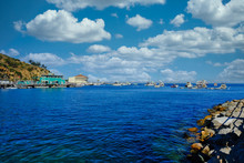 Deep Blue Water In Avalon On C...