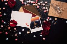St.Valentine Cards Set,on Diff...