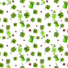 Leprechaun Four Leaf Clovers S...