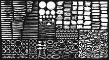 Ink Brushes , Dividers, Circles And Ornaments