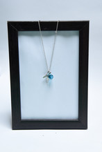 Beautiful Necklace And Blue Ge...