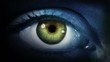 Dark Eye. Blue and Green. Dark gray skin. 2 in 1. Colored eye blinking. Each video is loopable. More options in my portfolio.