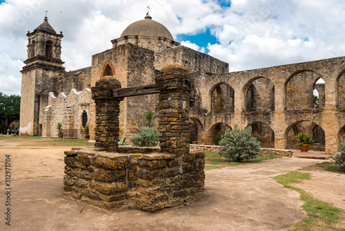 San Antonio Missions and Marketplaces Wallpaper Mural