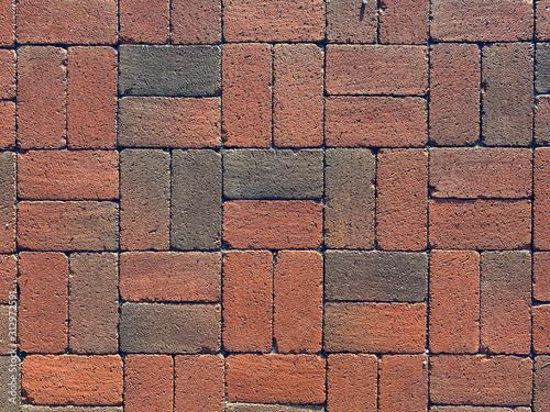 brick wall texture red bricks