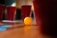 Party With Beer Pong And Red S...