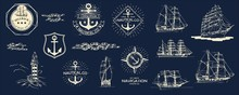 Mega Vector Set. Nautical Usef...