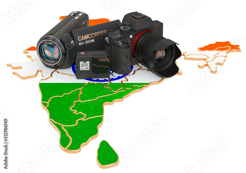 Photo Travel and photo, video shooting in India