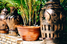 Pots Made In Vietnam And Stand...