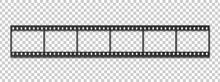 Six Frames Of 35 Mm Film Strip.