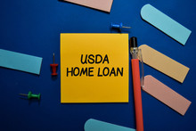 USDA Home Loan Write On Sticky...