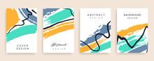 Summer Cover Design  Vector Se...