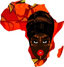 Africa With Woman