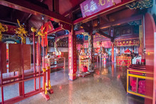 The Tjoe Hwie Kiong Temple Was...