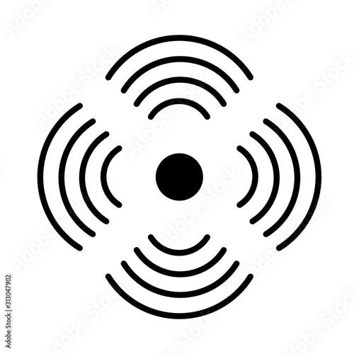 Fototapeta sygnał ikona obraz