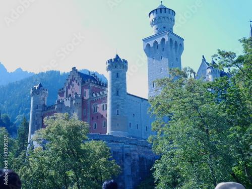 Fotografie, Tablou ドイツ お城 魔法使い 風景 美しい 旅行