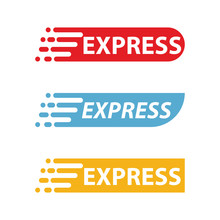 Express Logo Template Design V...