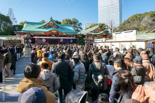 Fotografía 日枝神社の初詣