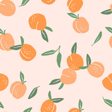 Vector Seamless Pattern With P...