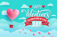 Valentine's Day Concept. Paper...