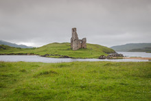Ancient Ruins Of Ardvreck Castle