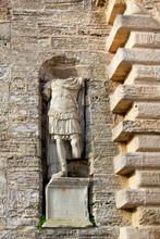 Vertical Stone Antique Facade ...