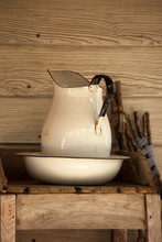 Pitcher And Bowl For Washing