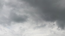 Dark Dense Clouds In Sky In Mo...